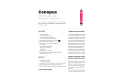 Canopus - Transponder Brochure