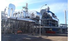 Multiple process fuels to make hot gas and thermal oil