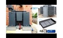 Retention tank for transformer and hydrocarbons Sanergrid Video