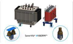SanerVib - Solution anti bruit et plot anti vibration pour transformateur