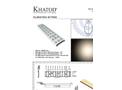 Khatod - Model PLL2061EWKH - Optical Panels for Mid Power LEDs  Brochure