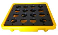 Front Safety - Model FSPE0430 - PE Spill Containment Pallets