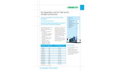 SIAD - Nitrogen ASU Air Separation Units Brochure