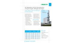 SIAD - Model AF - Oxygen Nitrogen Argon ASU Liquid Phase Unit Brochure
