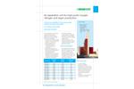 SIAD - Model DRA - Oxygen Nitrogen Argon ASU Gaseous Phase Unit Brochure