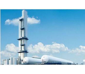 SIAD - Model AF - Oxygen Nitrogen Argon ASU Liquid Phase Unit