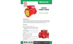 Emaco - Alarm Check Valve Brochure
