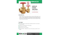 Emaco - Angle Hose Valve Brochure