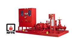Emaco - Model NFPA20 - Standard Fire Pump Set