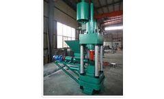 Maxton - Model MT - Hydraulic Briquetting Machine