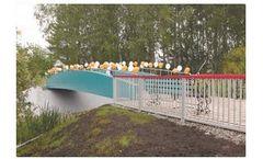 Mobistek - All-Composite Superstructure Bridge Span for Overground Pedestrian Over Passes