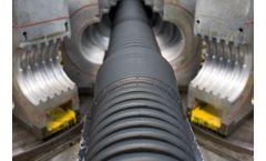 Model HDPE 100 - Corrugated Tube