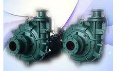Shiza - Model 100ZJ-50 - Anti Abrasive High Chrome White Iron Heavy Duty Slurry Pump