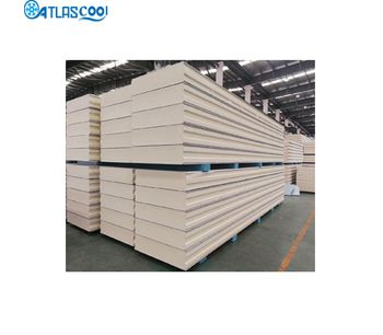Atlascool - High Quality Color Steel Fast Fit PIR Sandwich Panel for Meat/ Vegetables/ Fruit