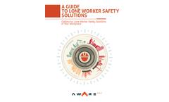SafetyAware - Lone Worker Safety Software Brochure