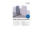 Arktis - Model P1000 - Pedestrian Radiation Portal Monitor - Brochure