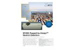 Arktis Rugged-by-Design - Model M800 - Highly Sensitive SiPM-Based Neutron Detectors - Brochure