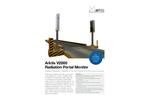 Arktis - Model RPM - Industrial Radiation Portal Monitors System - Brochure