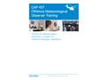 StormGeo Aviation CAP437 Met Observer Training Prospectus  Brochure