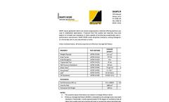 SKAPS - Model W100 - Woven Geotextiles Brochure