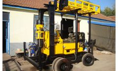 Shengte - Model AKL-600C - Trailer Water Well Drilling Rig