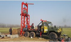 Shengte - Model AKL-200T - Reverse Circulation Truck Mounted Water Well Piling Drilling Rig
