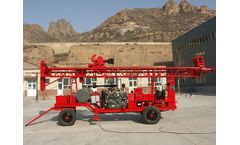 Shengte - Model AKL-200R - Most Cost-Effecient Geological Drilling Rig