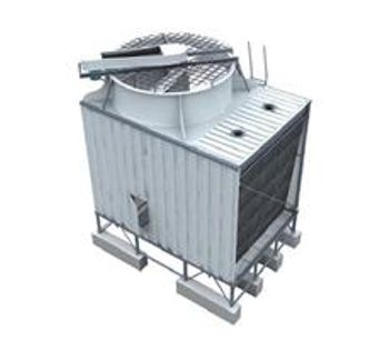 YUANHENG - Stainless-steel Single-side Air Inlet Top Discharge Cross-Flow Cooling Tower