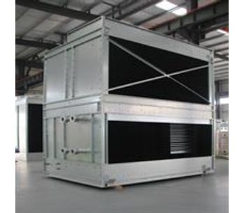 YUANHENG - Copper Coil Without Fills Cross-flow Cooling Tower