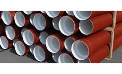 Elmo-plast - Model CORMA RIB 2® - Sewage piping