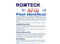 Romteck - Radio Frequency Identification System (RFID) Brochure