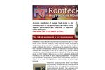 Romteck - Heat Stress Monitor Brochure