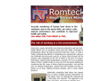 Romteck - Heat Stress Monitor Brochure
