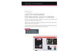 ATEQ - Model F620 - Leak Tester Brochure
