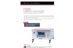 ATEQ - Model F5200 - Leak Tester Brochure
