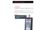 ATEQ - Model CDP60 - Compact Hanheld Pressure Calibrator Brochure