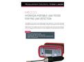 ATEQ - Model H6000 - Portable Hydrogen Leak Tester