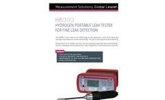 ATEQ - Model H6000 - Hydrogen Portable Leak Tester Brochure