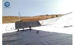 30 Mil HDPE Liner for Mining Project in Indonesia