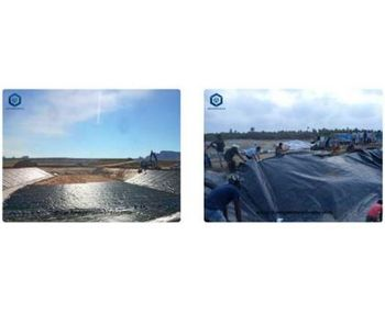 Geomembrane Pond Liner and Underlay for Oxidation Pond Project in Malaysia - Case Study
