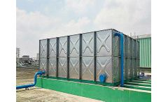 Pipeco - Pressed Stainless Steel Sectional Water Tanks