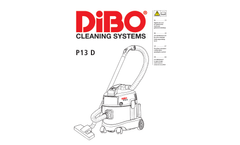 DiBO - Model P13 D - Vacuum Cleaners Brochure