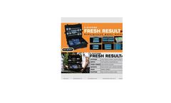 GER Fresh Result - Model 2 Plus - Underground Water Detector Brochure
