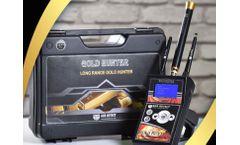 GER - Model Gold Hunter - Gold And Metal Detector