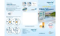 FIBALON Compact Filter Material for Whirlpools, Spas, Jacuzzi - Brochure