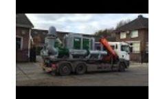 BBA Pumps Flood Control Pump Unit BA-C450S8 Video