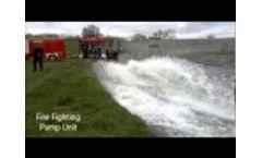 Fire Fighting Pump unit Video
