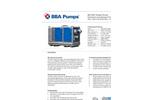 "BBA Pumps - Model BA150E D285 - 6"" Diesel Driven Dry Prime Pump Datasheet"