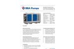 BBA Pumps - Model BA180E D315 - 8 Inch Diesel Unit Datasheet