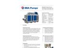 BBA Pumps - Model BA300E D328 - High Flow Flood Relief Pump - Datasheet